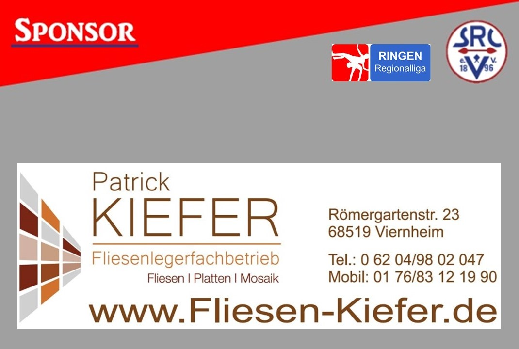 Kiefer Fliesen Sponsoren Präsentation 1
