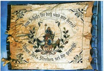 SRC Fahne weiß